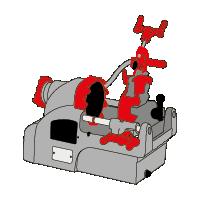 מכונות חריצה והברגה